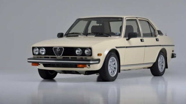 The Mintiest Alfa Romeo Alfetta Sport Sedan Left On Earth