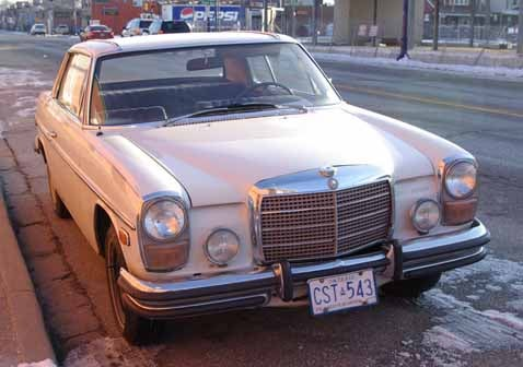 35 Years In Canada? No Problem, Says '73 Mercedes 250C