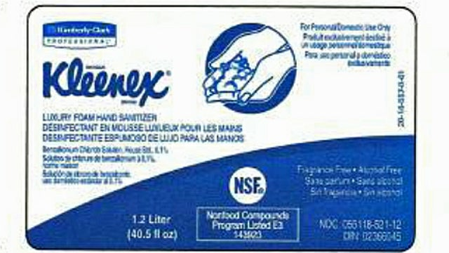 Kleenex Hand Sanitizer Recalled for Containing Potentially Lethal Bacteria