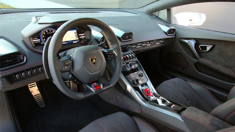 The Lamborghini Huracan Is The Real First Use Of Audi's Virtual Cockpit