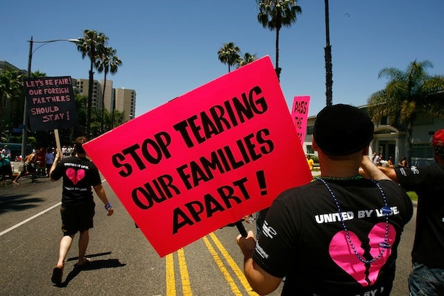 Immigration Authorities Don't Care Too Much About Gay Marriages