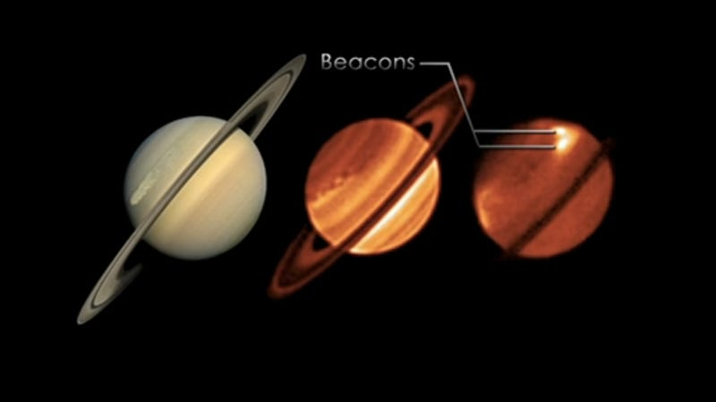 NASA detects extreme temperatures on Saturn after an enormous storm