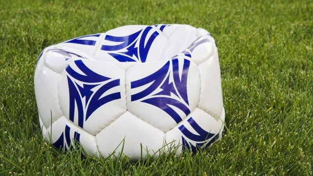 Inflate Flat Sports Balls with Compressed Air Cans