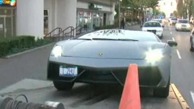 Mounties impound 13 supercars from rich kid street race