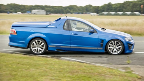 The Stig Ute-lizes Top Gear Test Track