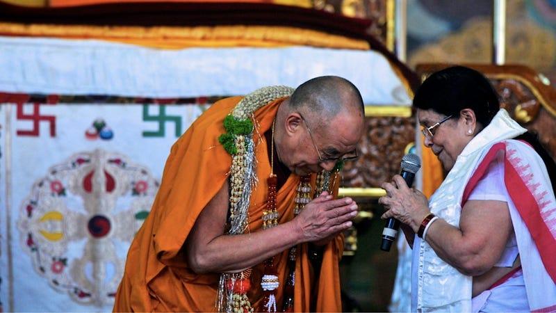 Sunday Brunch with the Dalai Lama and Gandhi's Granddaughter
