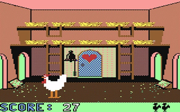 Cock'in. This was a Real Game, Once.