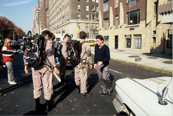 Never Before Seen Ghostbusters Behind The Scenes Shots