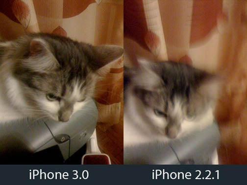 iPhone 3.0 Firmware Taking Better Pictures than 2.2.1?