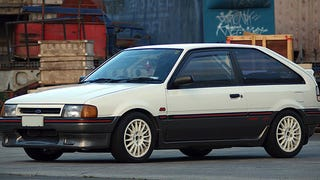 Mazda Once Built Ford A Turbo Rally Car