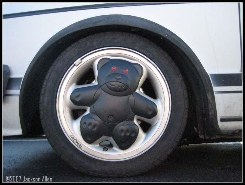 How To Uncute Teddy Bear Wheels