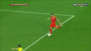Gareth Bale Strikes Perfect Free Kick To Score For Wales