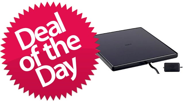 This Flat Indoor TV Antenna Is Your Freedom-From-Cable Deal of the Day