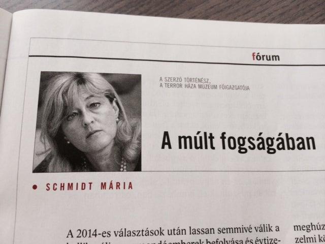 Schmidt Mária trollkirálynő megint ledobta a zsidó- és komcsimbombát