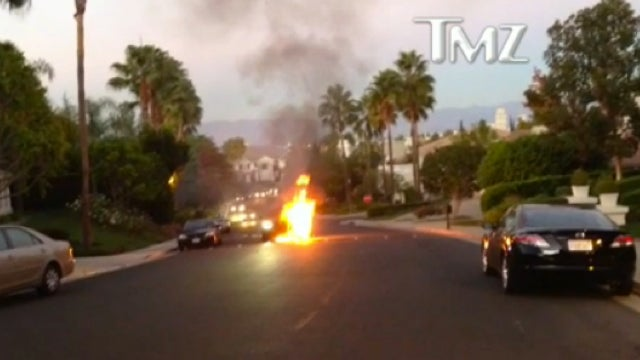 UFC Fighter's Manager Escaped Fiery Death When His BMW Mysteriously Exploded