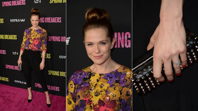 Cool Manicures, Hot Hairdos and Marilyn Manson: The Spring Breakers Premiere