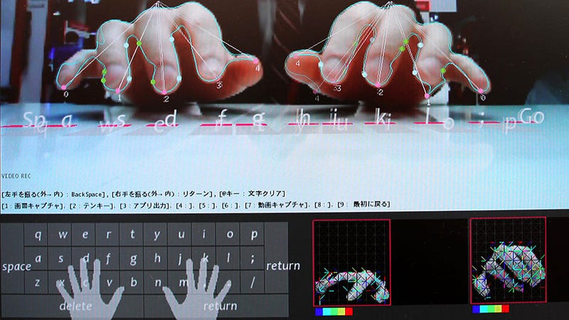 New Tablet Camera Tech Conjures an Invisible Keyboard