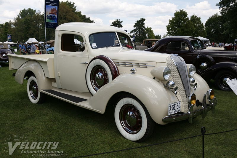 ...and a '36 Terraplane Express Cab Truck
