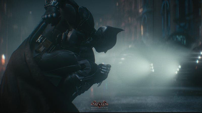 How The Batmobile Works In Arkham Knight