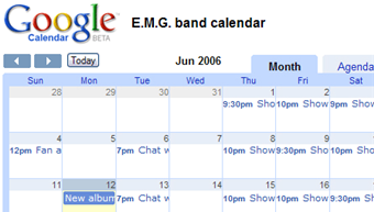 Google Calendar adds homepage module and calendar publishing