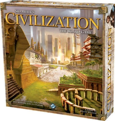 Sid Meier's Civilization: The Board Game Looks Wonderfully Complex