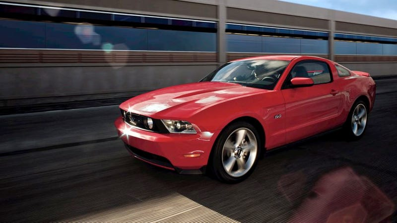 Ford isn't juicing its Mustang press cars