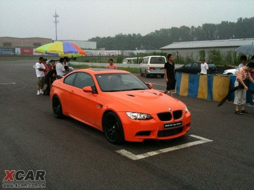 Chinese Tiger Edition BMW M3 Is Awesome, Tacky