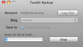 How to Back Up Your Tumblr