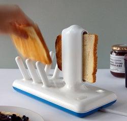 Ceramic Concept Toaster Toasts, Organizes