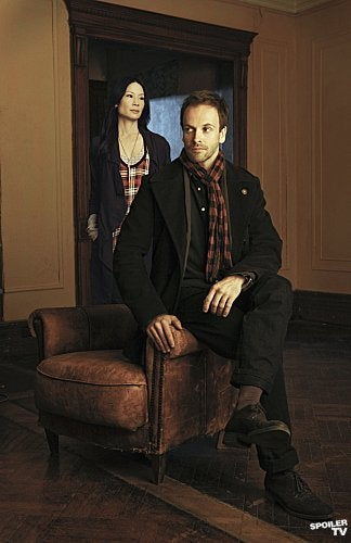 Holmes and Watson From Elementary
