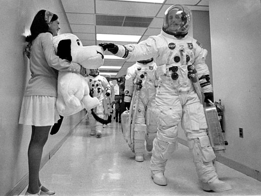 Snoopy the Astrobeagle, NASA's Mascot for Safety