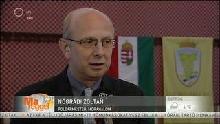 Elmúlt 21 éve legjobb nyilatkozatát adta a mórahalmi polgármester