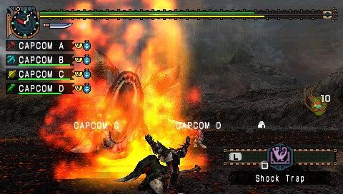 Monster Hunter Freedom Unite PSP Bundle, Demo Announced