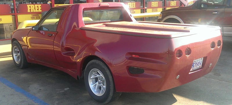 This Is How A Pickup Truck Pretends To Be A Horribly 80's Sports Car