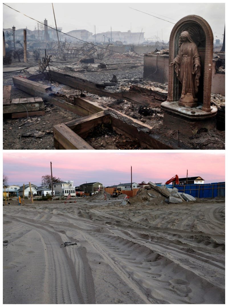Hurricane Sandy Before and After: 10 Images from the Aftermath and Now