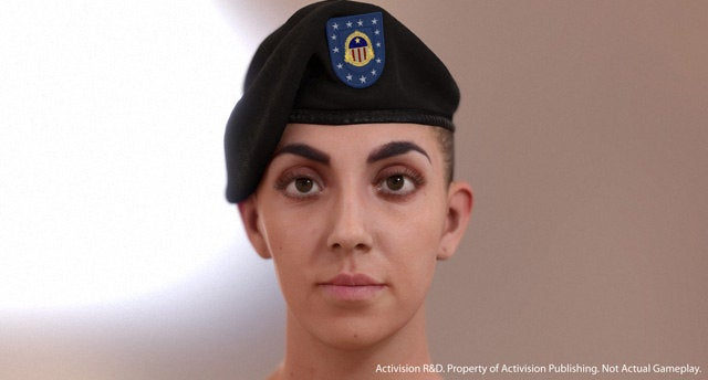 Activision's Next-Gen Soldier Graphics Have Crawled Straight Out Of The Uncanny Valley