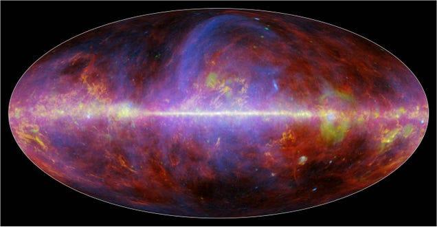 Nuevos mapas de la Vía Láctea muestran cómo fue el origen del Universo