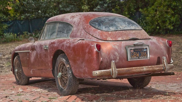 What's Next For This Barn Find Vintage Aston Martin?