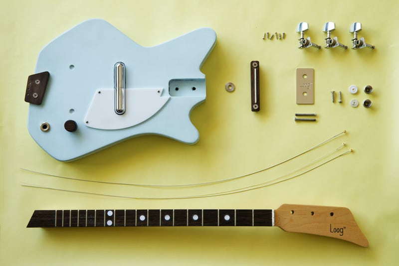 For Those About To Rock: A Cool 3-String Guitar You Build Yourself