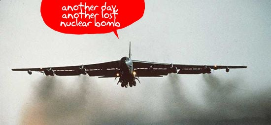 US Air Force Abandoned Nuclear Bomb in Greenland