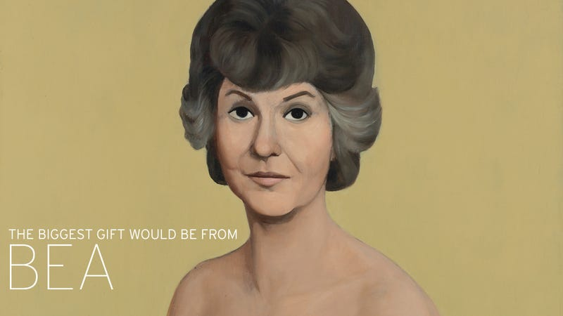 Would You Pay $2 Million for This Painting of Naked Bea Arthur? [NSFW]