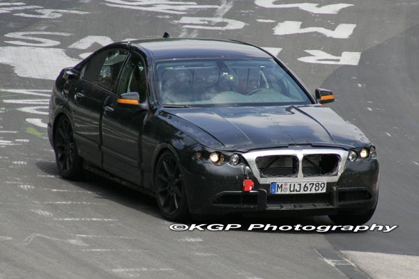 2010 BMW 5-Series Spotted At The Ring, We Get All Up In Its Grille