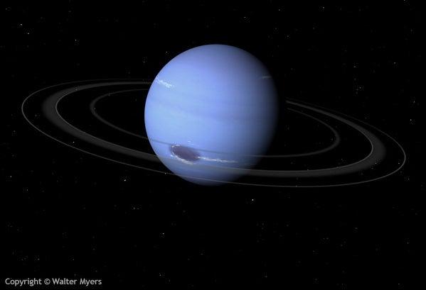 New Evidence For Seas of Liquid Diamond On Neptune