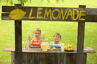 Business Columnist Yells at Children Giving Lemonade Away for Free