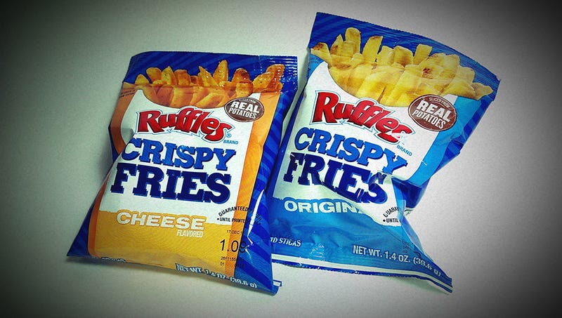 Ruffles Crispy Fries: The Snacktaku National French Fry Day Review