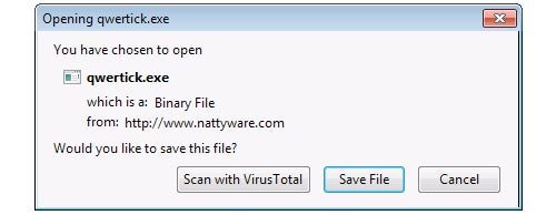 VTzilla Scans Files for Malware Before You Download Them