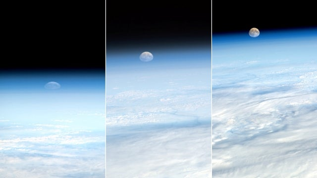 Space photos reveal the weird optical illusion of the squished Moon
