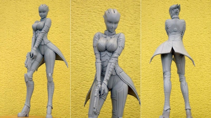 BioWare Offers This Sneak Peak at Liara's Figure in Exchange for Your Feedback