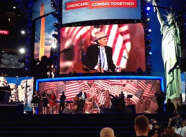 The Final Night of the DNC Convention: A View From the Floor