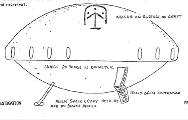 The best of New Zealand's UFO files: Alien writing, masks and ships